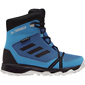 adidas TERREX Snow Climaproof Climawarm Scarpe alte Bambino, blue beauty/core black/hi-res orange